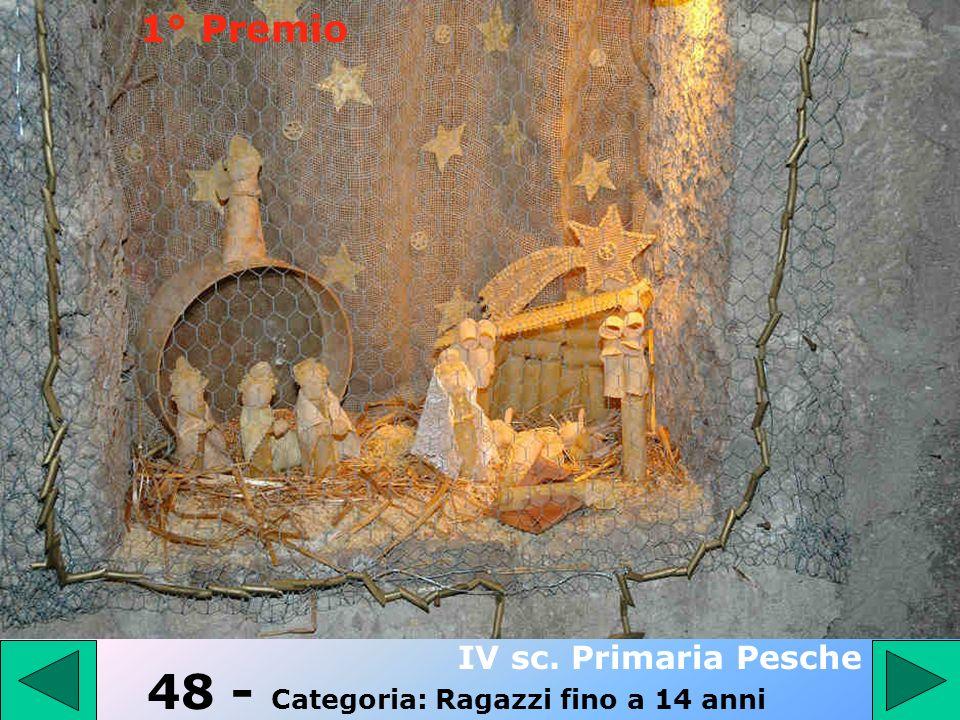 47 - Categoria: PRESEPE TRADIZIONALE Zullo Domenico