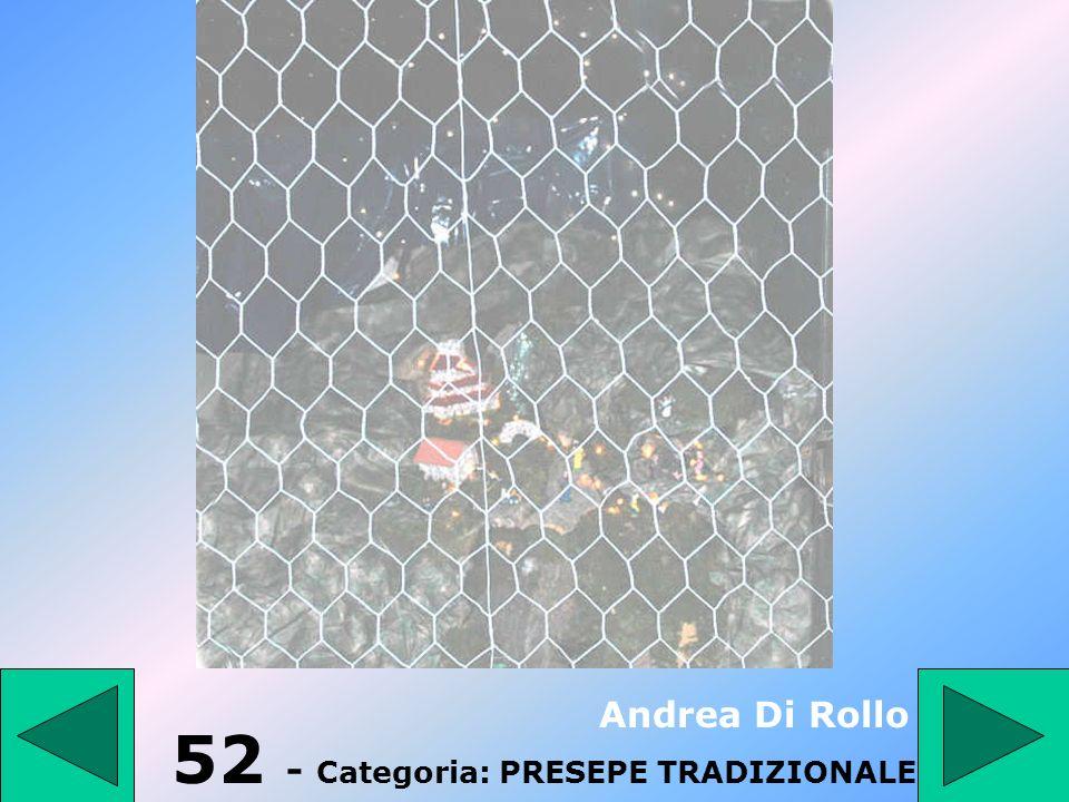 51 - Categoria: Ragazzi fino a 14 anni III D A. dIsernia 2° Premio