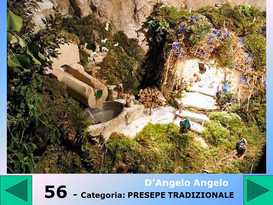 55 - Categoria: PRESEPE TRADIZIONALE DAngelo Angelo