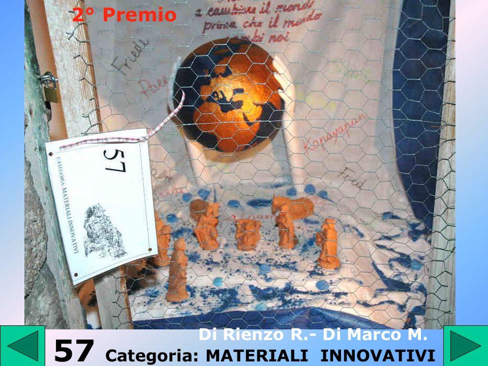 56 - Categoria: PRESEPE TRADIZIONALE DAngelo Angelo