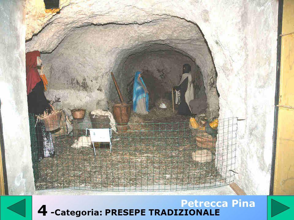 3 - Categoria: PRESEPE TRADIZIONALE Zullo Silvana