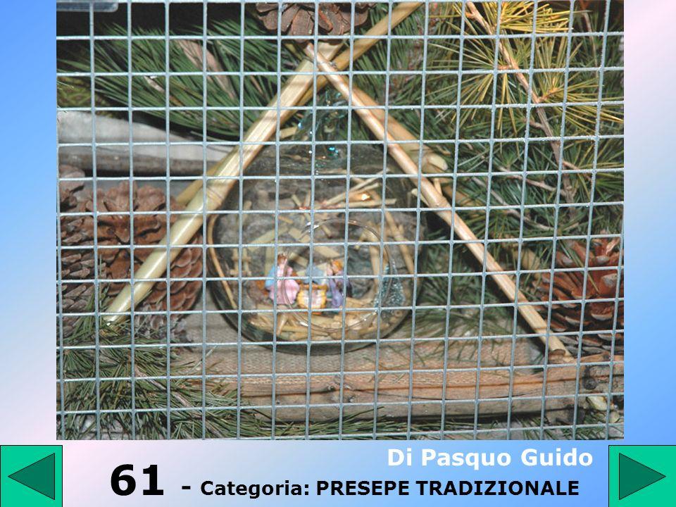 60 - Categoria: PRESEPE TRADIZIONALE Parmigiano Mena