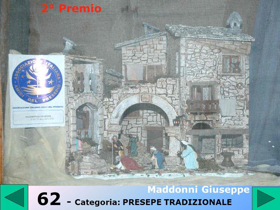 61 - Categoria: PRESEPE TRADIZIONALE Di Pasquo Guido