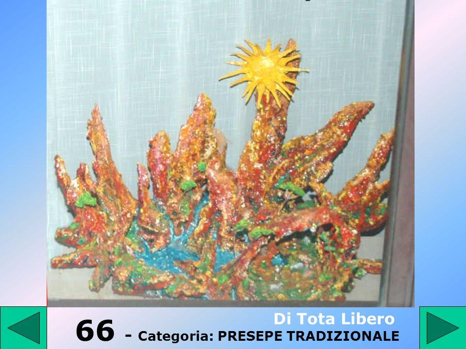 65 - Categoria: PRESEPE TRADIZIONALE Rossi Alberto