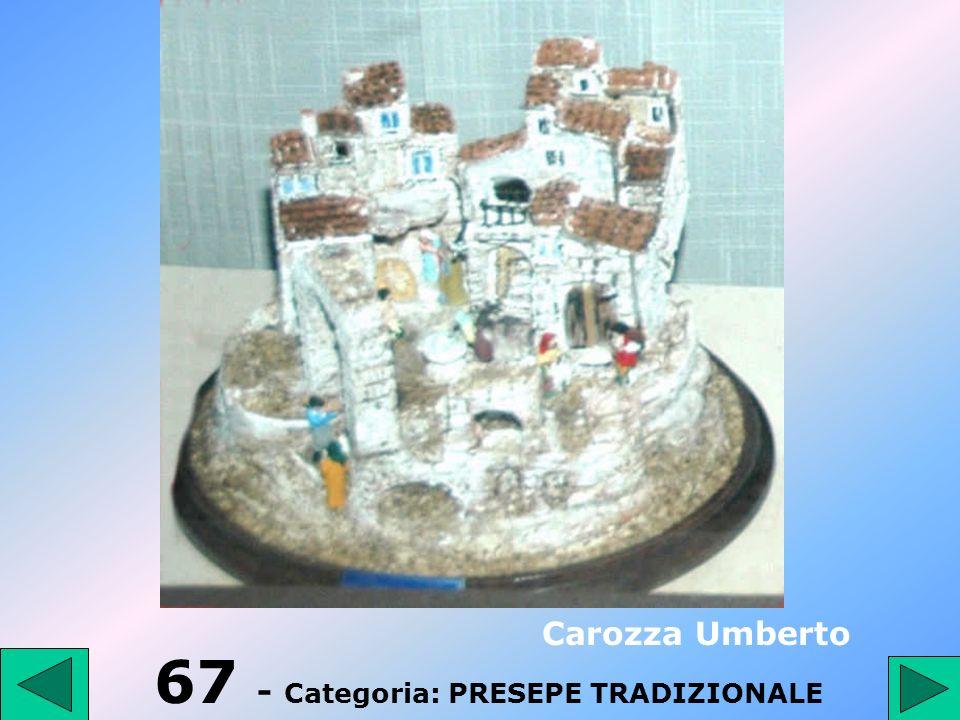 66 - Categoria: PRESEPE TRADIZIONALE Di Tota Libero