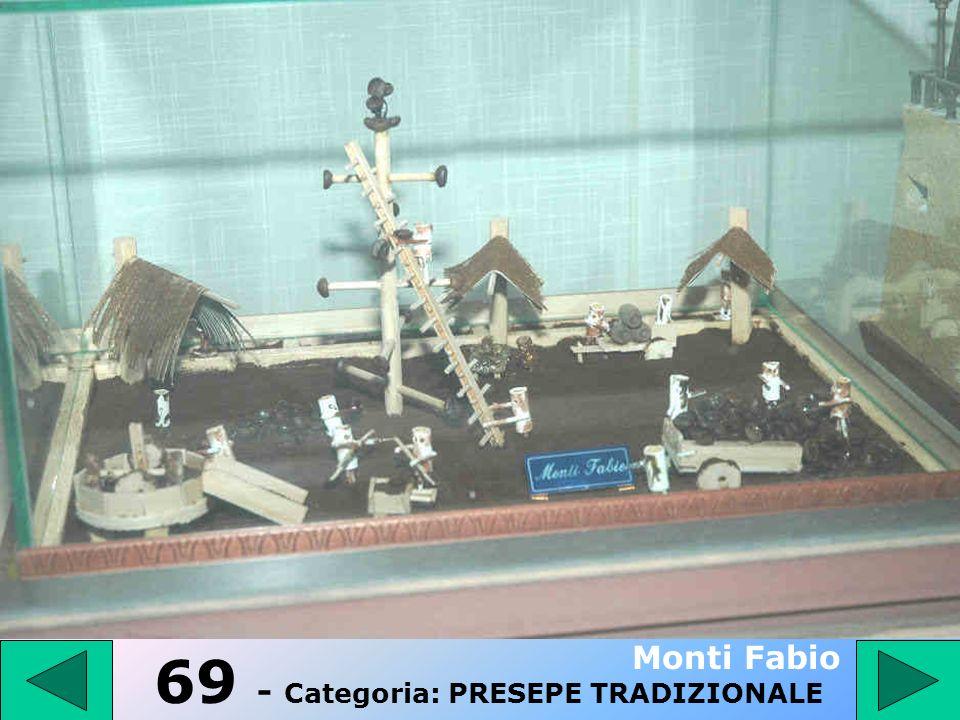 68 - Categoria: PRESEPE TRADIZIONALE Graziano Armando