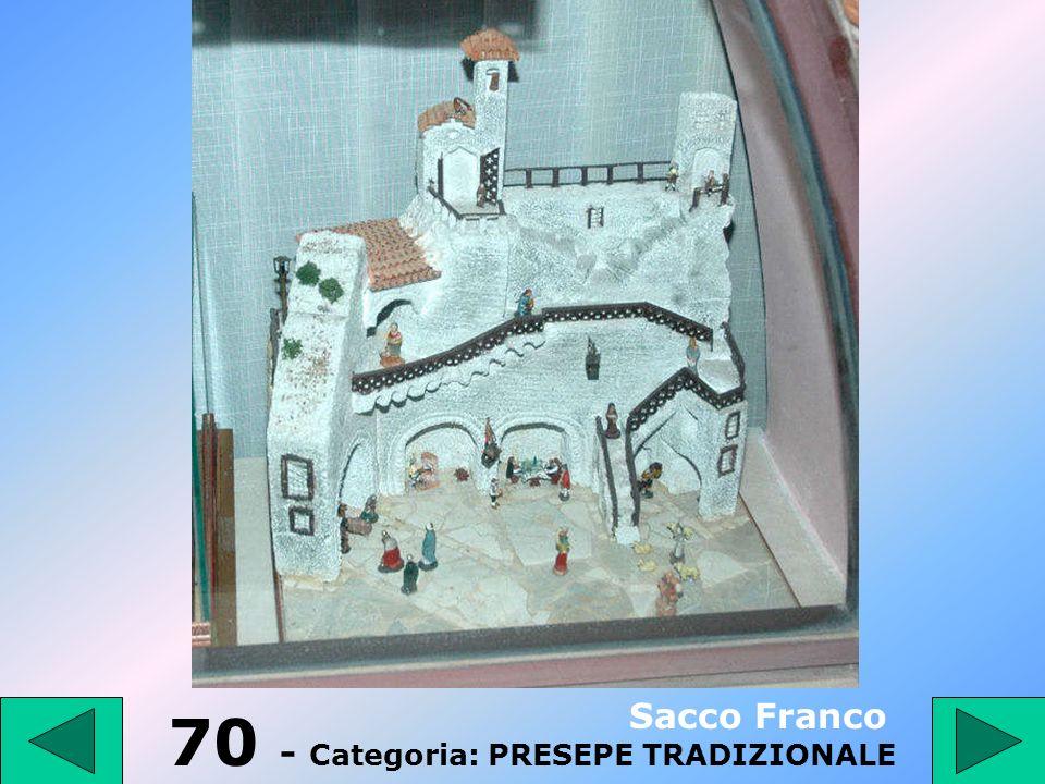69 - Categoria: PRESEPE TRADIZIONALE Monti Fabio
