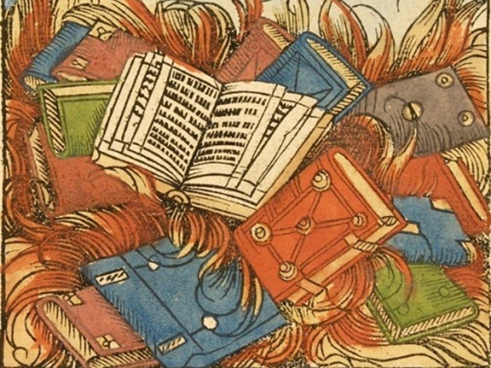 «La mia biblioteca fu data alle fiamme dai cristiani.» Il rogo dei libri Quando il regime ordinò che in pubblico fossero arsi i libri di contenuto mal
