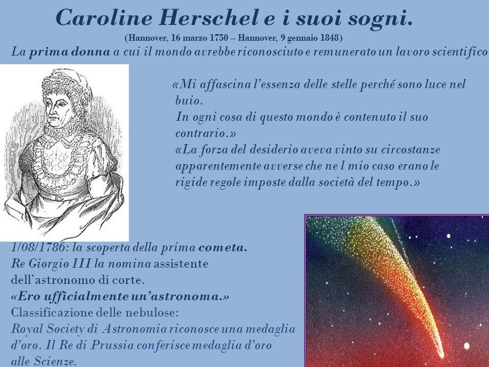 La prima donna a cui il mondo avrebbe riconosciuto e remunerato un lavoro scientifico «Mi affascina lessenza delle stelle perché sono luce nel buio. I