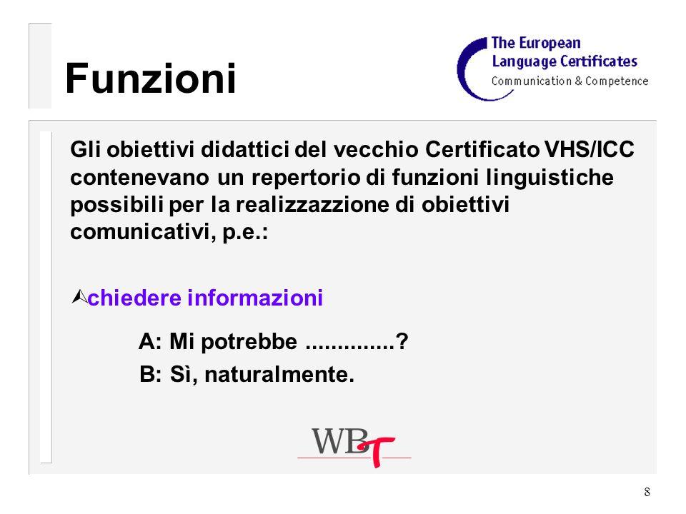 39 Valutazione dellesame orale Criterio 1: Capacità espressiva La valutazione è basata sul livello di adeguatezza del linguaggio usato (lessico e sintassi) in riferimento sia al tipo di compito da svolgere sia alle relazioni tra i due candidati.