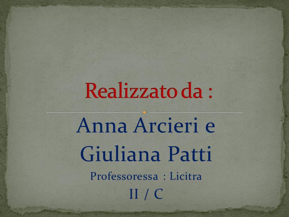 Anna Arcieri e Giuliana Patti Professoressa : Licitra II / C