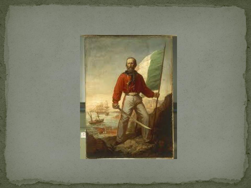 Giuseppe Garibaldi guidò la spedizione dei Mille.