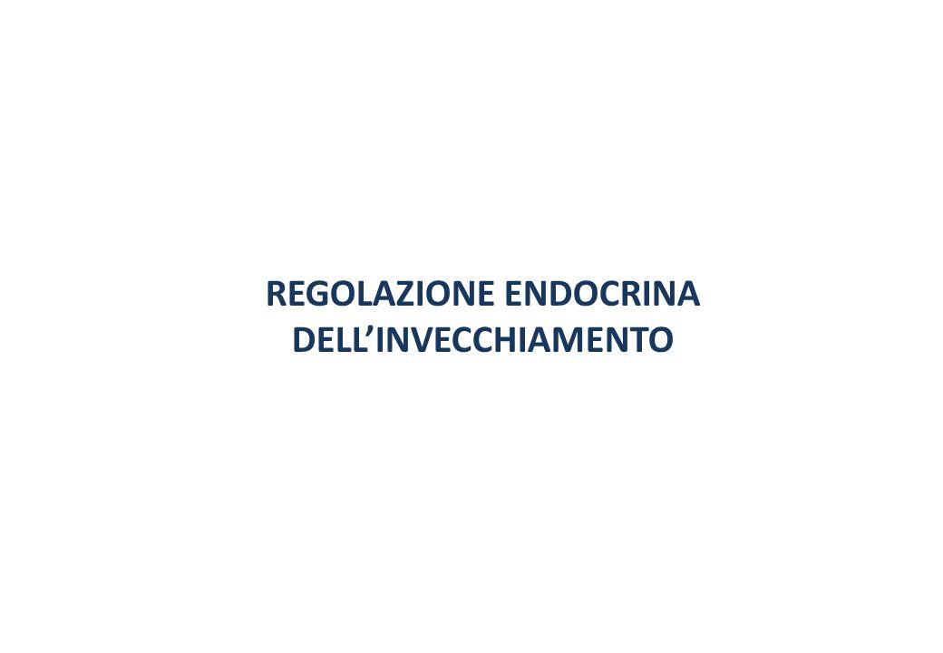 REGOLAZIONE ENDOCRINA DELLINVECCHIAMENTO