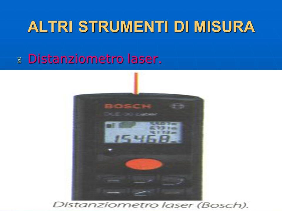 27/04/2014 DLA 119 ALTRI STRUMENTI DI MISURA Distanziometro laser. Distanziometro laser.