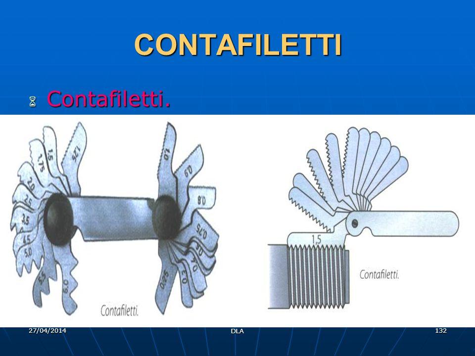 27/04/2014 DLA 132 CONTAFILETTI Contafiletti. Contafiletti.