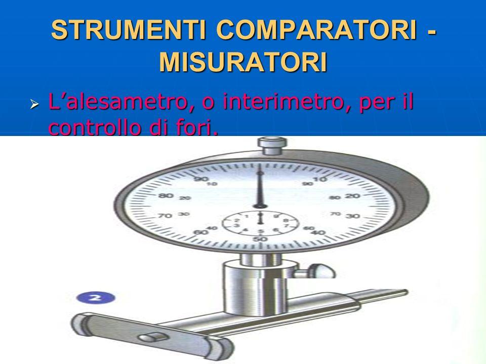 27/04/2014 DLA 27 STRUMENTI COMPARATORI - MISURATORI Lalesametro, o interimetro, per il controllo di fori. Lalesametro, o interimetro, per il controll