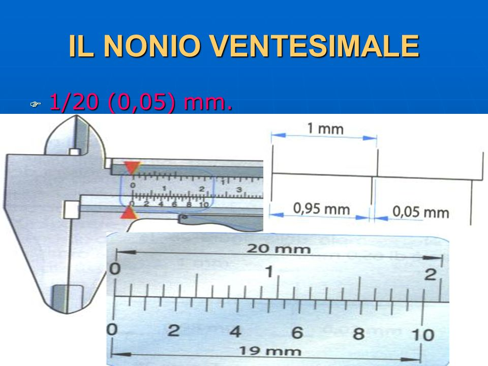 27/04/2014 DLA 47 IL NONIO VENTESIMALE 1/20 (0,05) mm. 1/20 (0,05) mm.