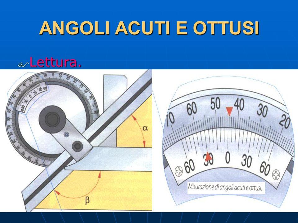 27/04/2014 DLA 94 ANGOLI ACUTI E OTTUSI Lettura. Lettura.