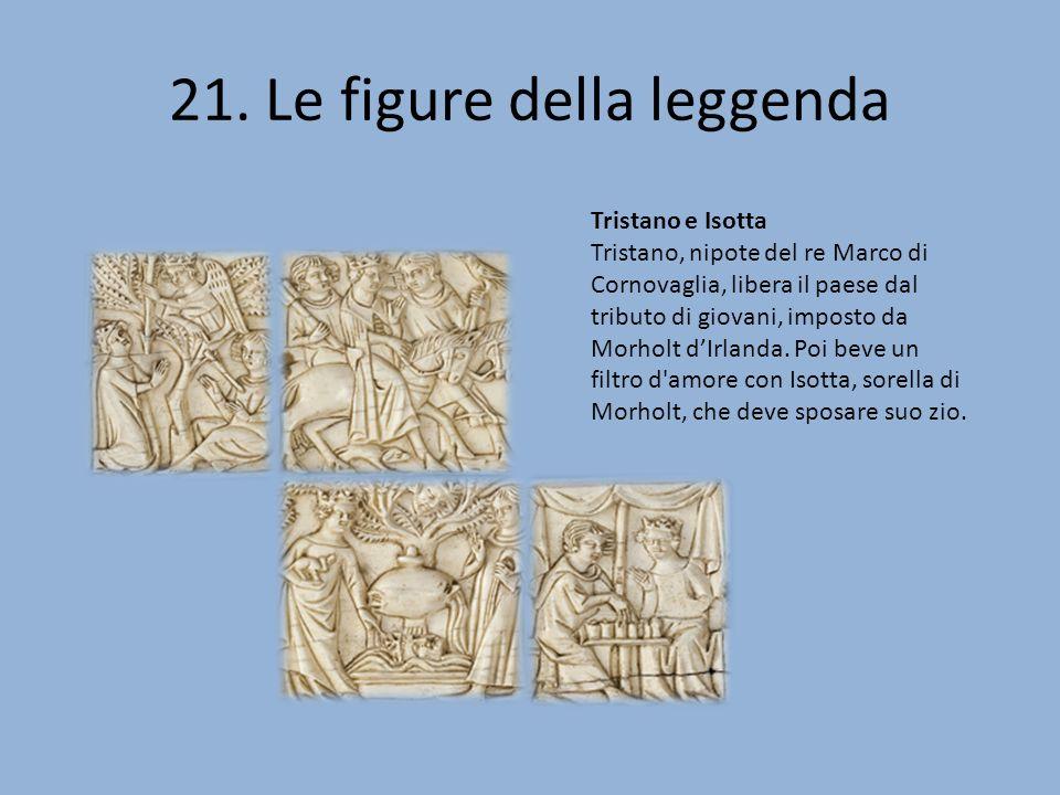 Episodi della storia di Tristano e Isotta Cofanetto davorio a motivi tristaniani Parigi, verso il 1340-1350 Avorio, 59/60 x 243 x 4 mm (a) 58/60 x 244 x 4 mm (b), 60 x 115 x 4 mm (c), 60 x 118 x 4 mm (d) Provenienza: conte di Mailly (?), poi, marchese de Mailly-Nesle (La Roche- Mailly, Sarthe); Claude Vaudecrane (Le Mans), acquisito nel 1983 Musée du Louvre, oggetti d arte, OA 10 à 10 957 960 © 2007 Musée du Louvre / Martine Beck-Coppola
