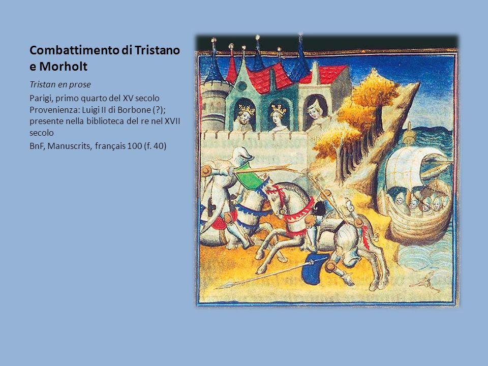 Combattimento di Tristano e Morholt I manoscritti BnF, fr.