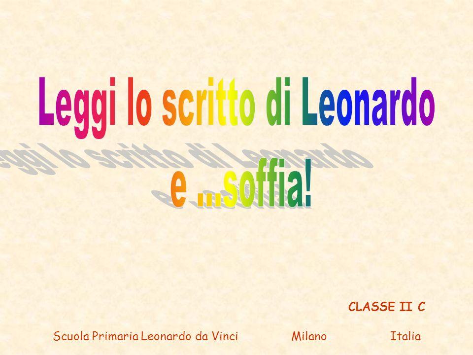CLASSE II C Scuola Primaria Leonardo da Vinci Milano Italia