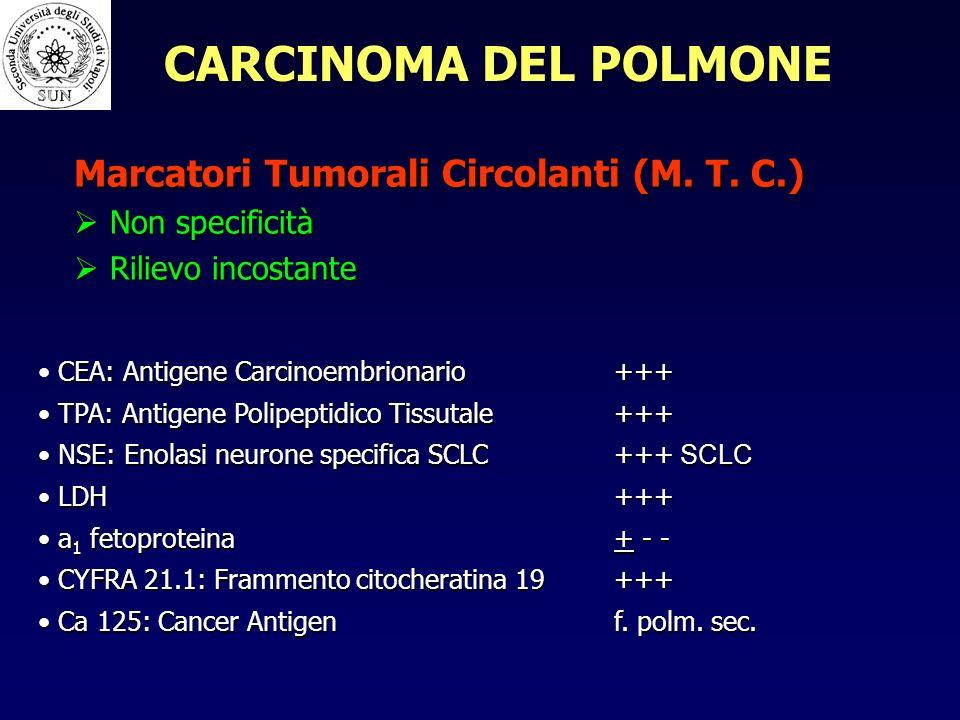 Marcatori Tumorali Circolanti (M.T.