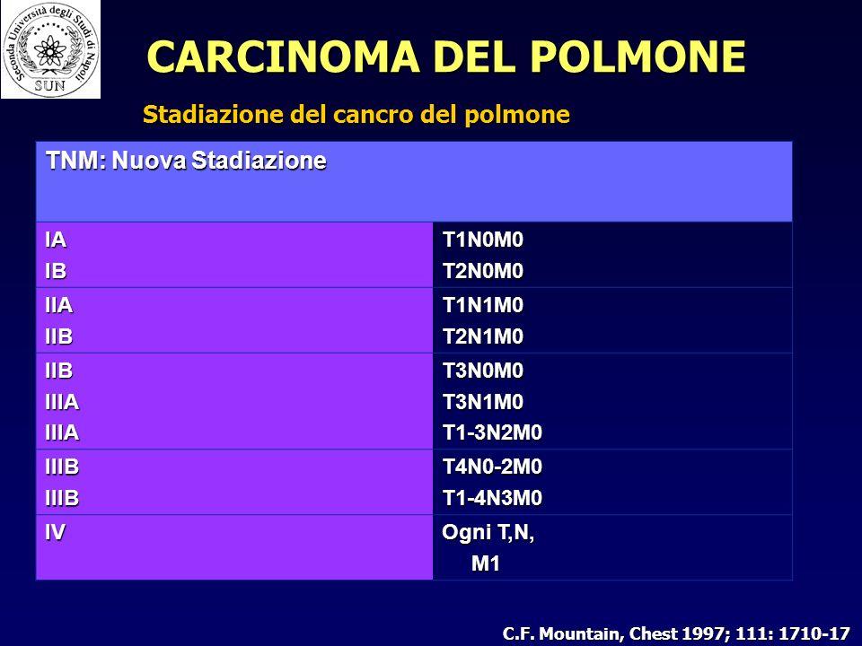 Stadiazione del cancro del polmone C.F.