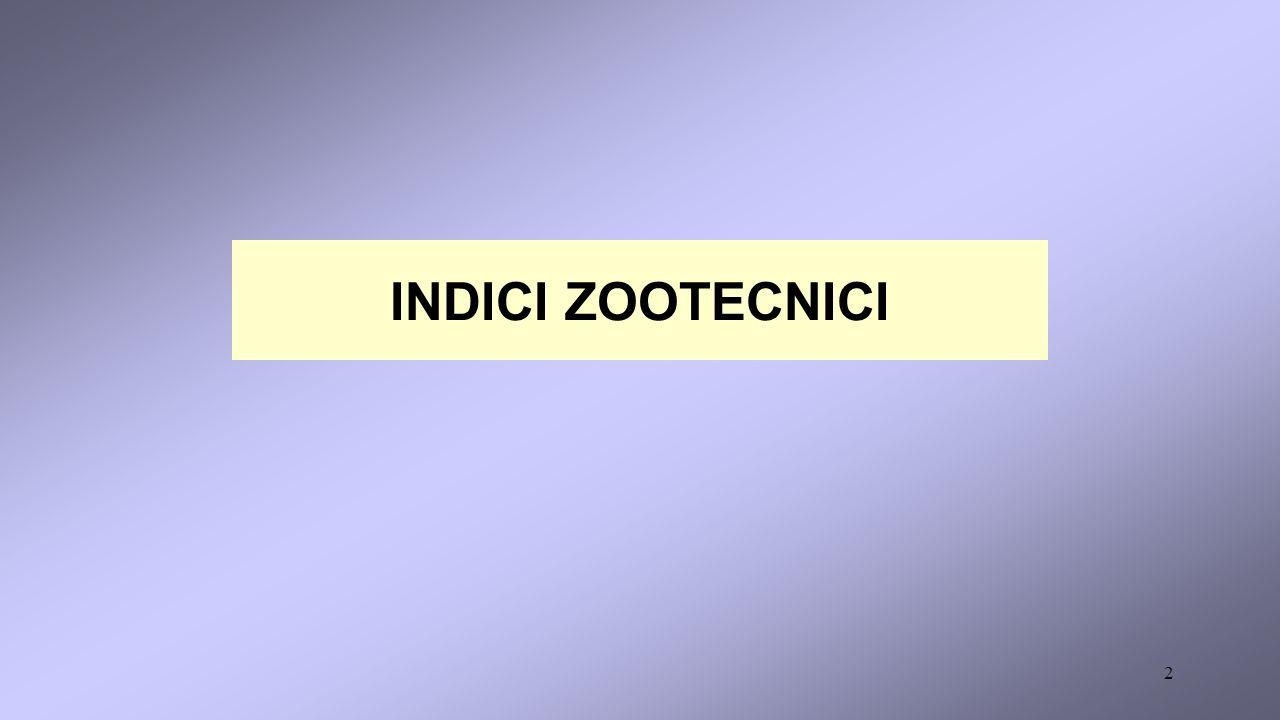 2 INDICI ZOOTECNICI