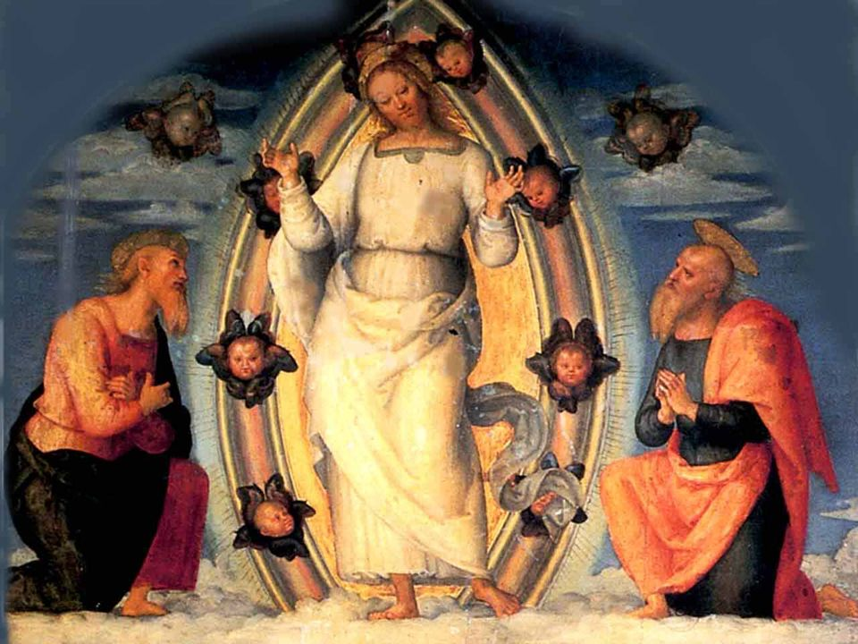 Dunque, la luce e la voce: la luce divina che risplende sul volto di Gesù, e la voce del Padre celeste che testimonia per Lui e comanda di ascoltarlo.