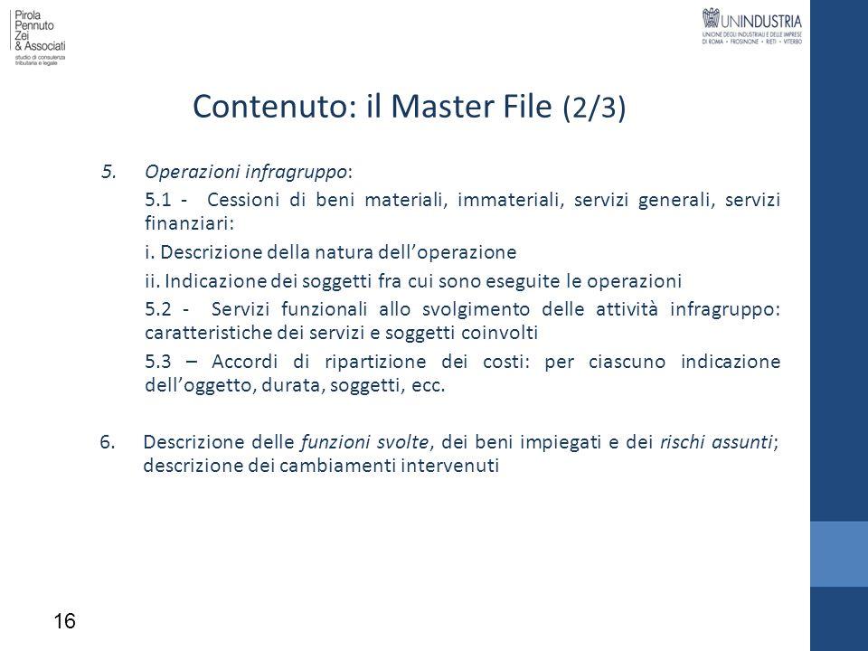 5.Operazioni infragruppo: 5.1 - Cessioni di beni materiali, immateriali, servizi generali, servizi finanziari: i. Descrizione della natura delloperazi