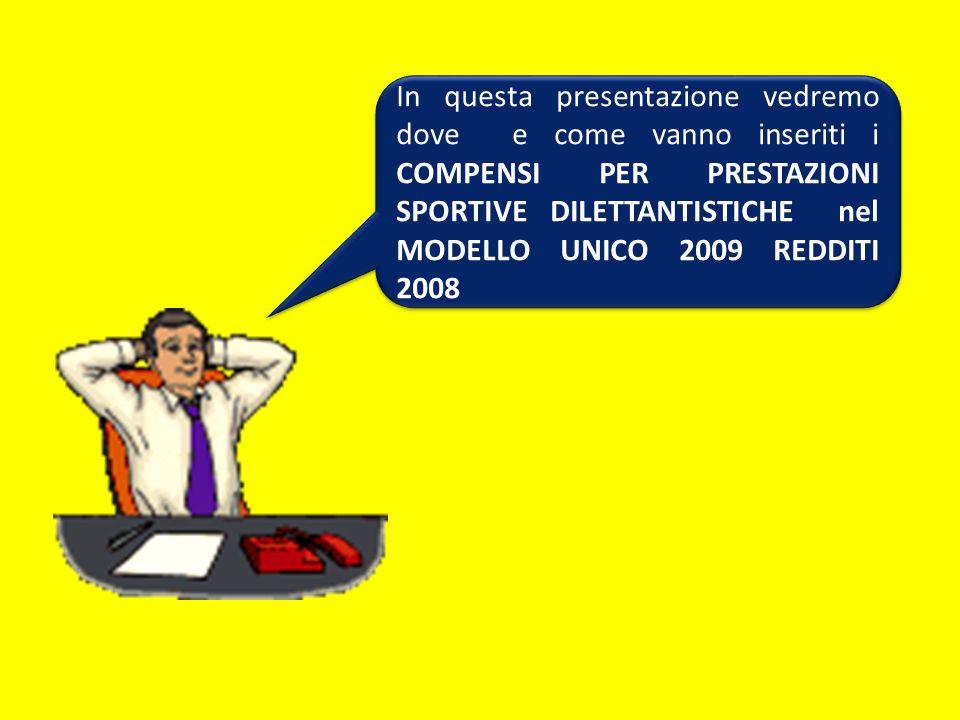 Per facilitare la compilazione dei righi RL21, RL22, RL23 e RL24 nelle istruzioni, fasc.2, a pag.10, si consiglia di utilizzare il seguente prospetto.