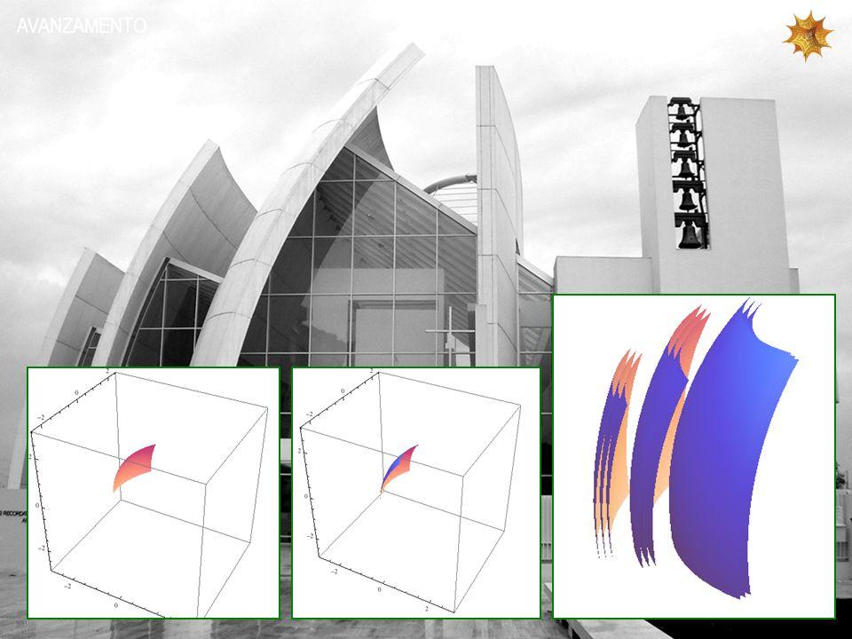 Graphics3D[{Cuboid[{0.4, -1, 0}, {1.4, 0.6, 1.25}], PlotRange -> {{-3, 3}, {-3*540/640, 3*540/640}, {-3, 3}}, Axes -> True}] Show[{vert2, base, campanile, ingresso}, ImageSize -> {640, 540}] POLIGONI 3D Il comando Graphics3d permette di disegnare poligoni tridimensionali definendoli tramite le coordinate spaziali di due spigoli, assunti dal programma come principali.