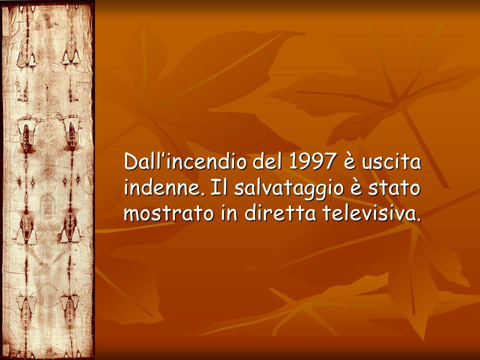 Dallincendio del 1997 è uscita indenne. Il salvataggio è stato mostrato in diretta televisiva. Dallincendio del 1997 è uscita indenne. Il salvataggio