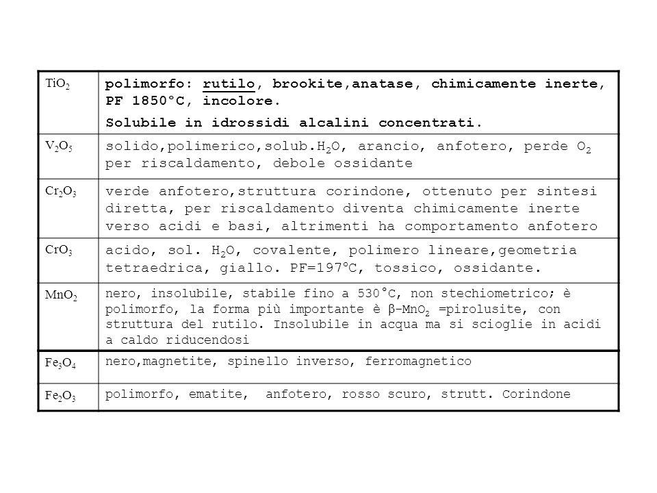COBALTO Co 4s 2 3d 7 Cobalto, ferromagnetico.