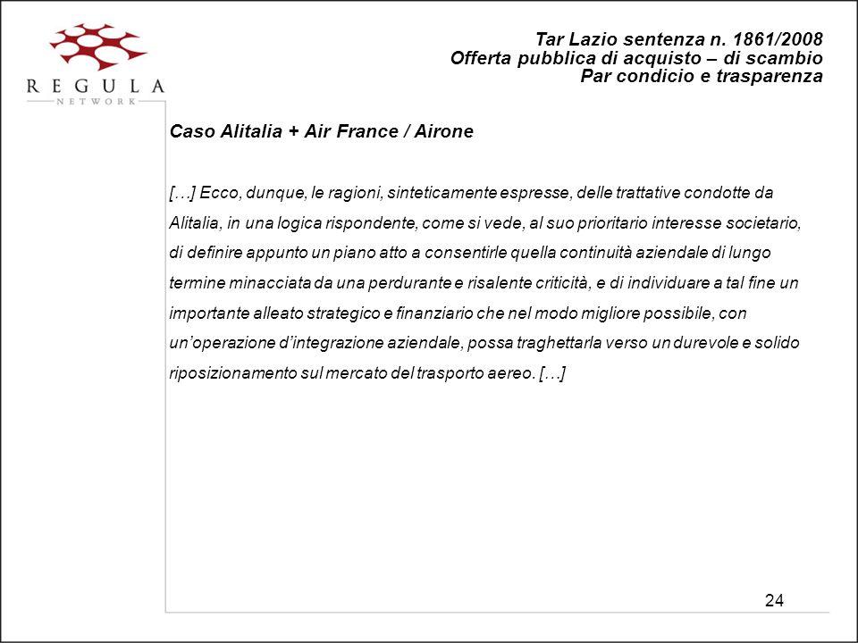 24 Tar Lazio sentenza n.