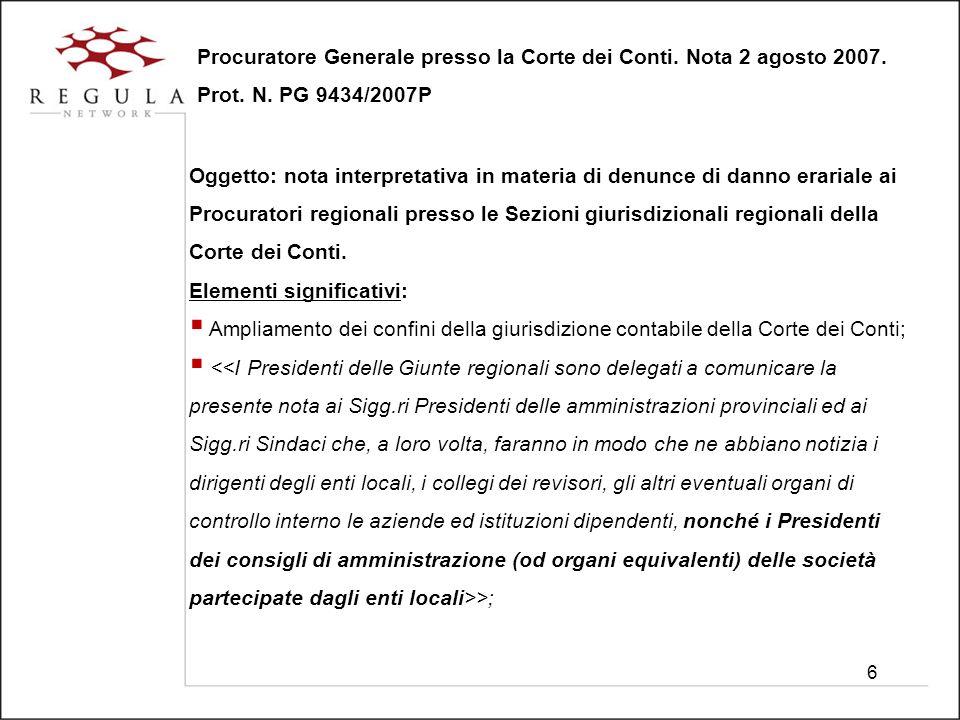 27 Tar Lazio sentenza n.