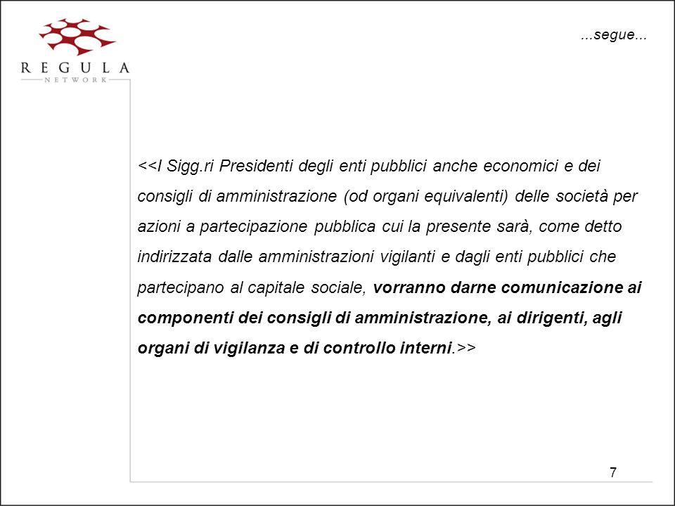 28 Legge finanziaria 2007 – Art.