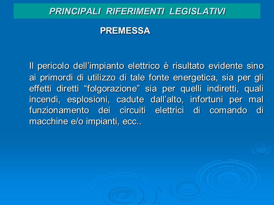 PRINCIPALI RIFERIMENTI LEGISLATIVI Testo Unico Articolo 86 - Verifiche 2.