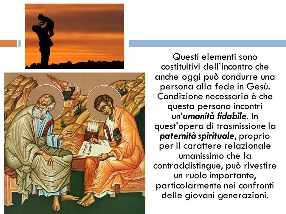 Questi elementi sono costituitivi dellincontro che anche oggi può condurre una persona alla fede in Gesù. Condizione necessaria è che questa persona