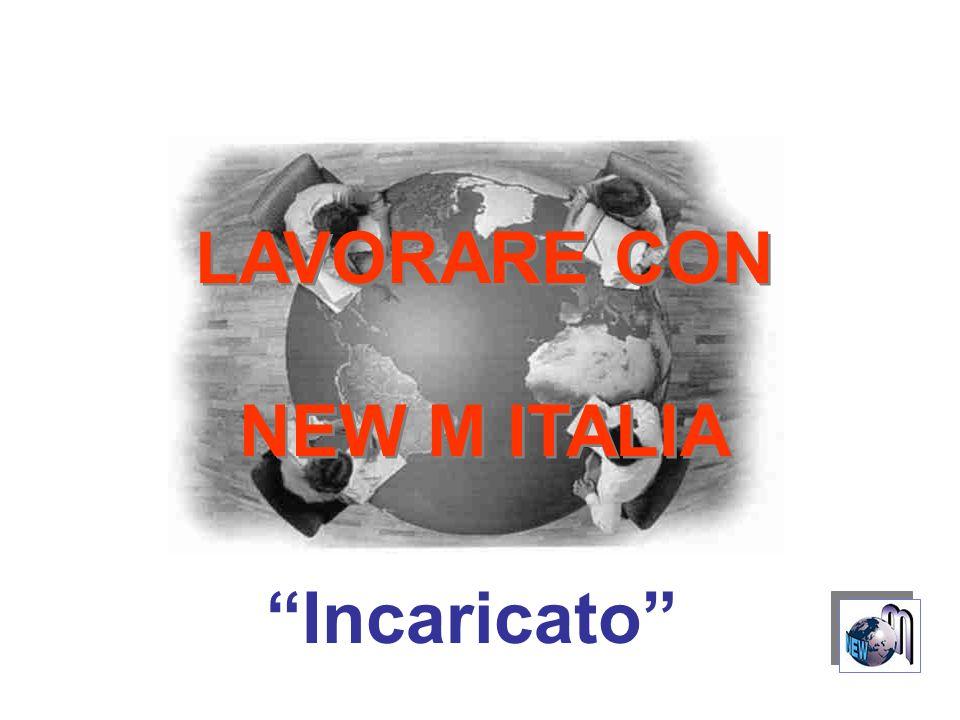 LAVORARE CON NEW M ITALIA LAVORARE CON NEW M ITALIA Incaricato