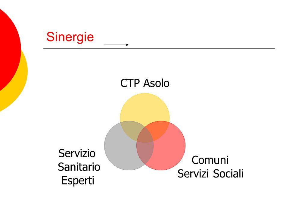 Sinergie CTP Asolo Comuni Servizi Sociali Servizio Sanitario Esperti