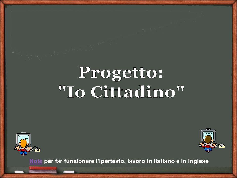 NoteNote per far funzionare lipertesto, lavoro in Italiano e in Inglese