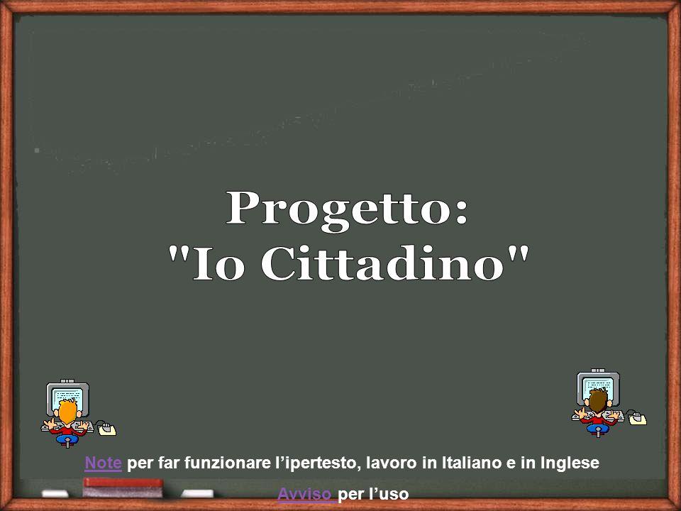 NoteNote per far funzionare lipertesto, lavoro in Italiano e in Inglese Avviso per lusoAvviso