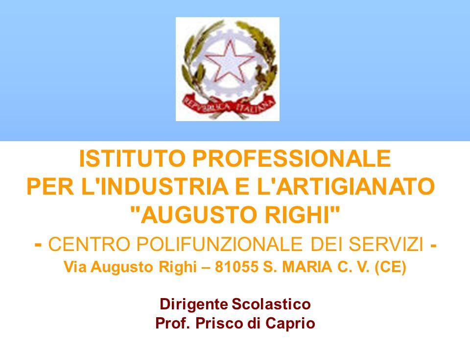 ISTITUTO PROFESSIONALE PER L'INDUSTRIA E L'ARTIGIANATO