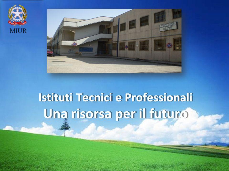 LOGO Istituti Tecnici e Professionali Una risorsa per il futuro Istituti Tecnici e Professionali Una risorsa per il futuro