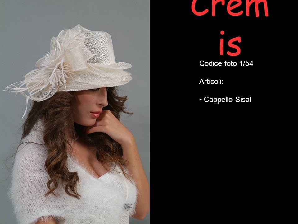Crem is Codice foto 1/54 Articoli: Cappello Sisal