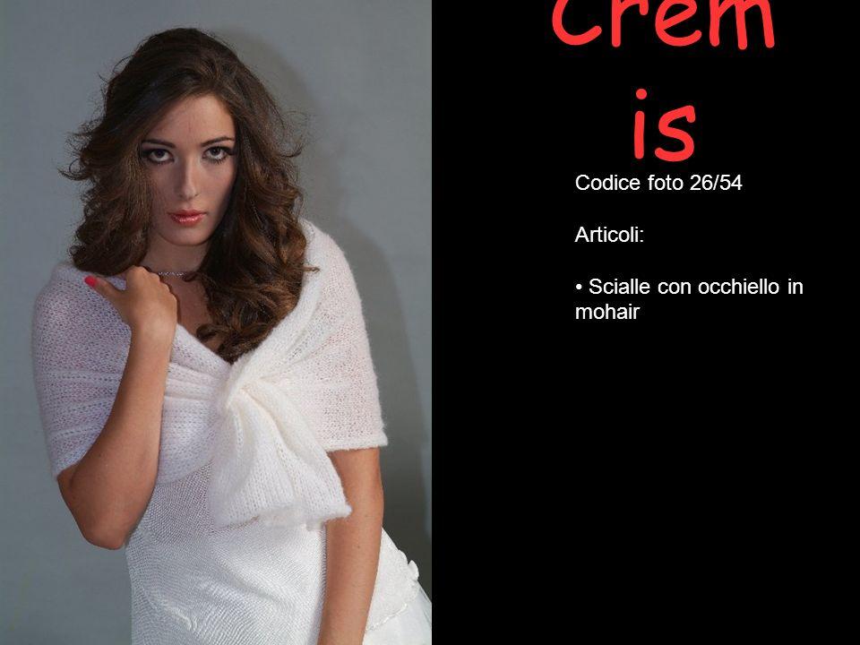 Crem is Codice foto 26/54 Articoli: Scialle con occhiello in mohair