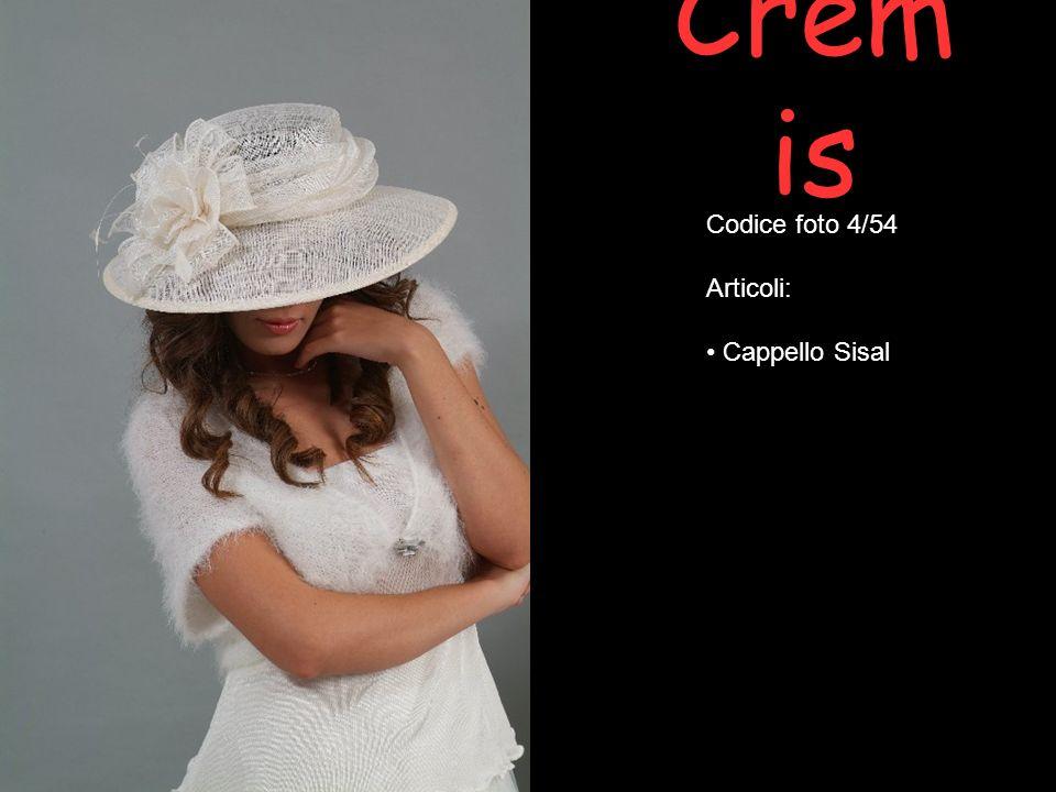 Crem is Codice foto 4/54 Articoli: Cappello Sisal