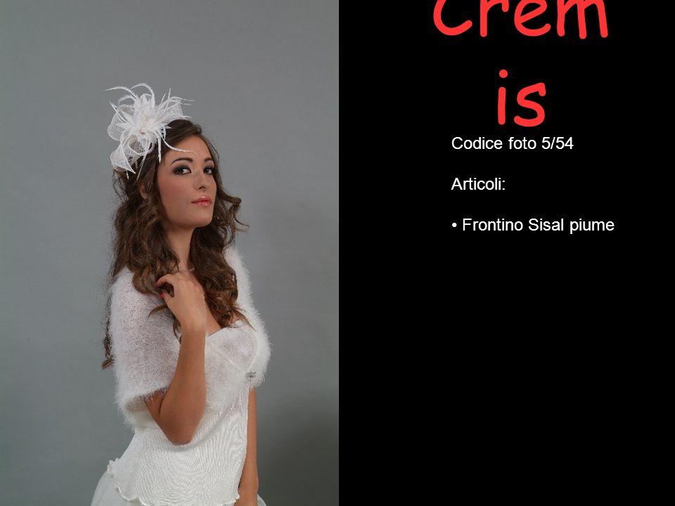 Crem is Codice foto 28/54 Articoli: Bolero sciallato in mohair