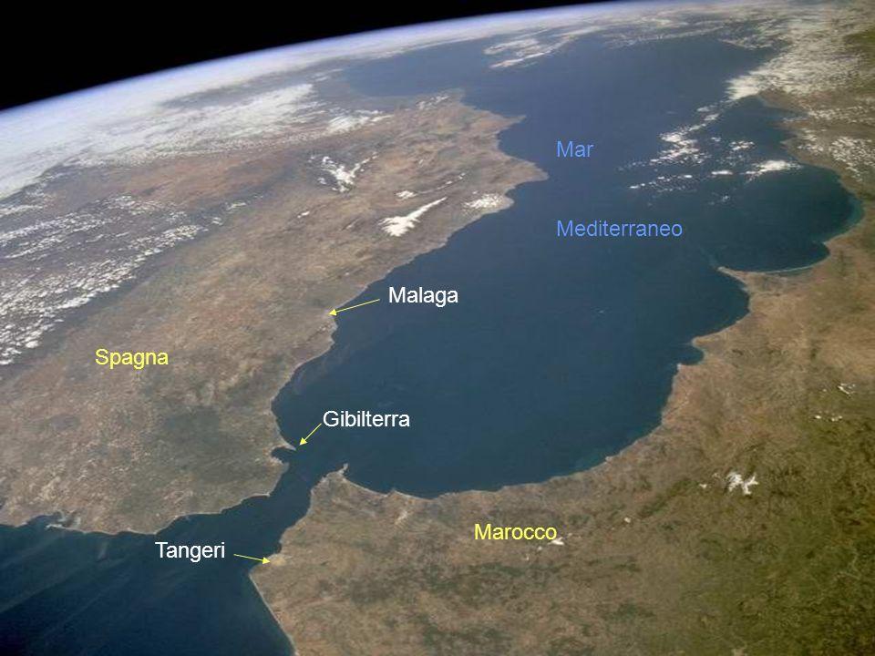 Stretto di Gibilterra: superate le colonne dErcole si entra nellOceano Atlantico